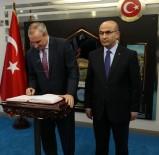 ADANA VALİSİ - İsrail Büyükelçisi Naeh Adana Valiliğini Ziyaret Etti