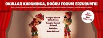 GÖLGE OYUNU - Karnelerini Alan Öğrenciler, Forum Erzurum'da Yaza Keyifli Bir Giriş Yapacak