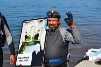 ARABA LASTİĞİ - Merhum Gazeteci Karagözoğlu'nun Anısına Su Altındaki Çöpleri Temizledi