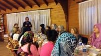 GASSAL - Ramazan Mukabelesine Katılan Kadınlar İftar Sofrasında Buluştu