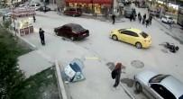 DİKKATSİZLİK - Trafik Kazaları Kamerada