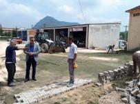 VEZIRHAN - Vezirhan Yeni Sanayi Sitesi'nde Parke Çalışmaları Devam Ediyor