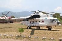 ORMAN MUHAFAZA MEMURU - Yangın Helikopteri Fethiye'de Göreve Başladı