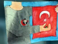 Yozgat'ta Öğrencilerden 15 Temmuz Resim Sergisi