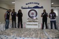 DENIZ KUVVETLERI KOMUTANLıĞı - 1 Ton Uyuşturucu Basına Gösterildi