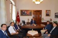 ALI SıRMALı - BASKİ'den Kaymakamı Ali Sırmalı'ya Ziyaret