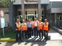 VEZIRHAN - Belediye Başkanı Duymu, Fabrika Yöneticileri İle Bir Araya Geldi