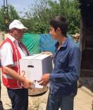 Beşiri Kızılay'dan 300 Aileye Yardım
