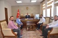 SÜLEYMAN ELBAN - Bilecikspor Yönetim Kurulu Üyelerinden Vali Elban'a Ziyaret
