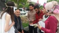 İLAÇ KULLANIMI - Düzce Üniversitesi Öğrencileri 200 Yaşlıya Rehberlik Etti