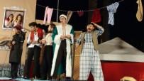 ŞEHİR TİYATROSU - Kaynana Oyunu Gölmarmara'da Perde Açtı