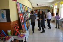 Öğrencileri Resim Sergisi Büyük Beğeni Topladı