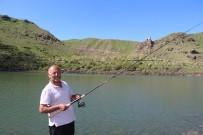 BEĞENDIK - Olta Balıkçılarının Yeni Gözdesi Pırdanos Gölü