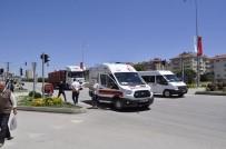 ELEKTRİKLİ BİSİKLET - Sungurlu'da Trafik Kazası Açıklaması 1 Yaralı