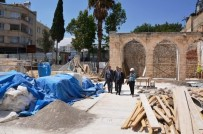 Tekye Camii Ve Canpolat Paşa Konağında Restorasyon Çalışmaları Devam Ediyor