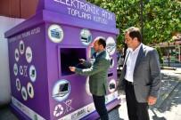 ÇAMAŞIR MAKİNESİ - Ünye'de Elektronik Atık Kutusu
