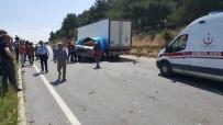 Uşak'taki Kazalarda 2 Çocuk Hayatını Kaybetti, 3 Kişi Yaralandı