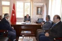Vali Çataklı'dan Müdür Kaçarlar'a Ziyaret