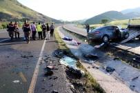 Yozgat'ta Trafik Kazası 1 Ölü 2 Yaralı