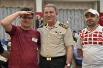 DENIZ KUVVETLERI KOMUTANı - Akar Gazilerle İftarda Bir Araya Geldi