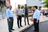 Aksaray Belediyesine Vatandaşlardan Asfalt Teşekkürü