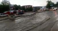 YAĞIŞLI HAVA - Ankara'da Sağanak Yağış