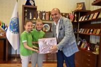 ATATÜRK İLKOKULU - Atık Pil Toplama Kampanyasında Dereceye Giren Okulları Ödüllendirdi