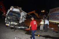 ALI SıRMALı - Balıkesir'de zincirleme kaza: 9 yaralı