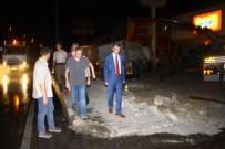 ALI SıRMALı - Balıkesir'de feci kaza! Yaralılar var..