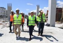 MUHITTIN BÖCEK - Başkan Böcek, 'Şantiye'de Çalışmaları İnceledi