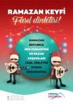ÇALIŞMA SAATLERİ - Forum Erzurum'da Ramazan Keyfi Fasıl Dinletileri İle Devam Ediyor