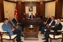 AHMET TURAN - Genel Müdürlerden Vali Toprak'a Ziyaret