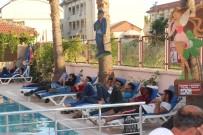 İNSAN KAÇAKÇISI - Havuz başında yasadışı göçmen operasyonu