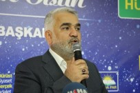 HÜDA PAR Genel Başkanı Zekeriya Yapıcıoğlu Elazığ'da