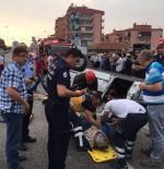 SERVERGAZI - Kontrolden Çıkan Otomobil Yolda Takla Attı Açıklaması 4 Yaralı