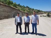 Köylerde Yol Çalışması Sürüyor