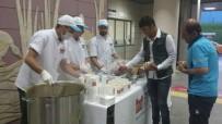MERCIMEK ÇORBASı - Marmaray Yolcularına İftarda Çorba Sürprizi