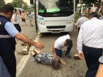 KADIN ŞOFÖR - Marmaris'te Midibüsün Çarptığı Yaşlı Kadın Öldü
