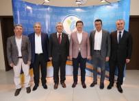 EMİN HALUK AYHAN - MHP Genel Başkan Yardımcısı Ayhan'dan Başkan Subaşıoğlu'na Ziyaret