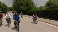 SAFFET SANCAKLı - Milletvekilleri TBMM'de Çocuklarla Birlikte Pedal Çevirdi
