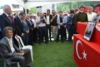 SEBAHATTİN ÖZTÜRK - Ordu Şehidini Bağrına Bastı