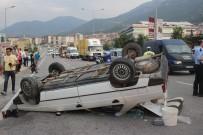 SERVERGAZI - Otomobil Takla Attı Açıklaması 4 Yaralı