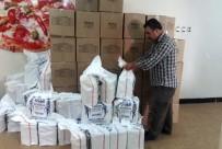 KURU FASULYE - Şehit Aileleri Ve Gazilere Ramazan Yardımı