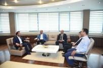 NEVZAT DOĞAN - TÜMSİAD'dan Başkan Doğan'a Ziyaret
