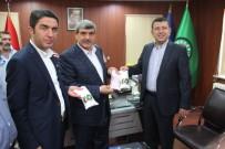 ŞEKER FABRİKASI - Ağbaba'dan Şeker İş Sendikasına Ziyaret
