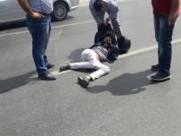 NESIM - Antalya'da Otomobil İle Motosiklet Çarpıştı Açıklaması 2 Yaralı