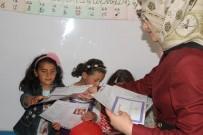 Aras EDAŞ'tan Minik Öğrencilere Karne Hediyesi