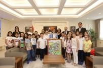 ULUSAL EGEMENLIK - Başkan Şahin GKV'li Çocukların Hayallerine Dokundu.