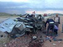 Başkent'te Trafik Kazası Açıklaması 1 Ölü, 4 Yaralı