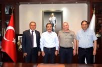 AHMET ATAÇ - CHP PM Üyesi Kaya'dan Başkan Ataç'a Ziyaret